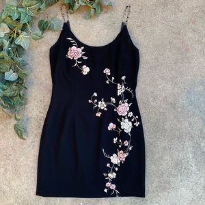 Maggy London Floral Cocktail Dress